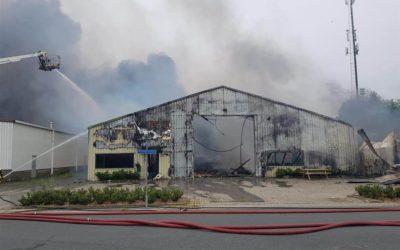 Brand Handelsweg dinsdag 21 mei